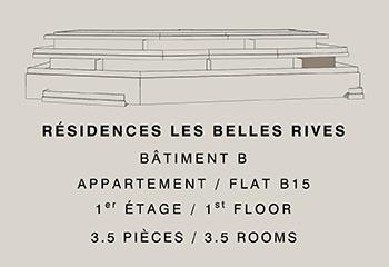 Appartement B15