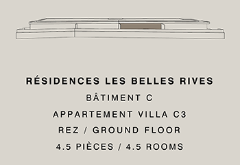 Appartement villa C03