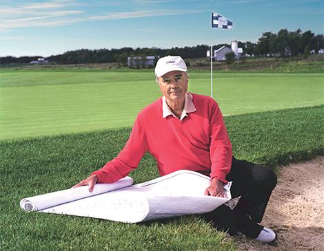 Robert Trent Jones Jr. est un brillant architecte spécialiste de parcours de golf avec plus de 270 réalisations à son actif.