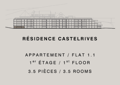 Residencia Castelrives – Apartamento 1.1