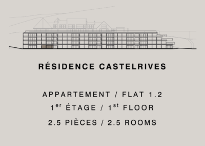 Castelrives Residence, Apartment 1.2