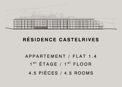 Castelrives Residence, Apartment 1.4