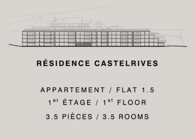 Castelrives Residence, Apartment 1.5