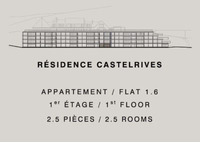 Castelrives Residence, Apartment 1.6