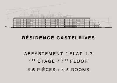 Castelrives Residence, Apartment 1.7