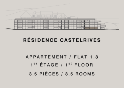 Castelrives Residence, Apartment 1.8