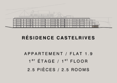 Castelrives Residence, Apartment 1.9