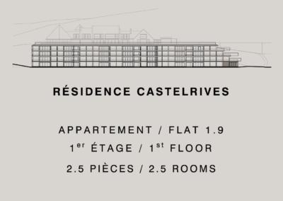 Residencia Castelrives – Apartamento 1.9