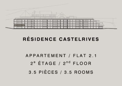 Castelrives Residence, Apartment 2.1