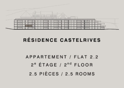 Castelrives Residenz – Apartment 2.2