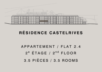 Castelrives Residenz – Apartment 2.4