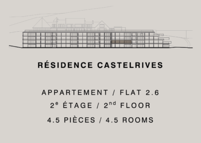 Castelrives Residence, Apartment 2.6