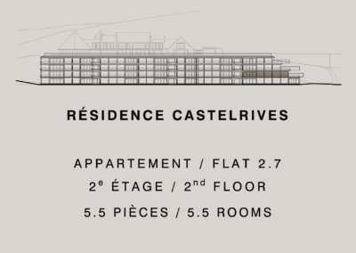 Castelrives Residence, Apartment 2.7