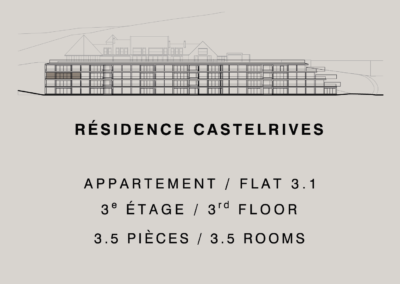 Castelrives Residence, Apartment 3.1