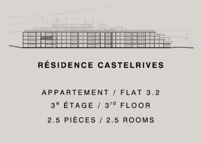 Castelrives Residence, Apartment 3.2