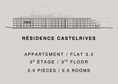 Residencia Castelrives – Apartamento 3.2