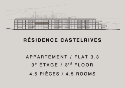 Castelrives Residence, Apartment 3.3