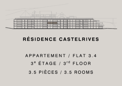 Castelrives Residenz – Apartment 3.4