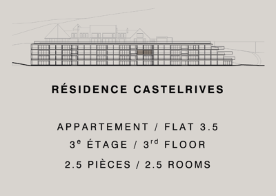 Castelrives Residence, Apartment 3.5