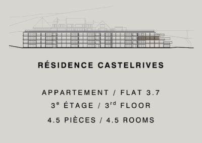 Castelrives Residence, Apartment 3.7