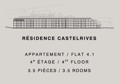 Castelrives Residence, Apartment 4.1