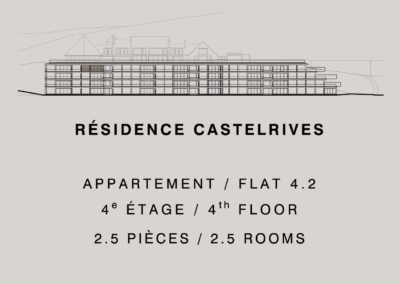 Castelrives Residence, Apartment 4.2