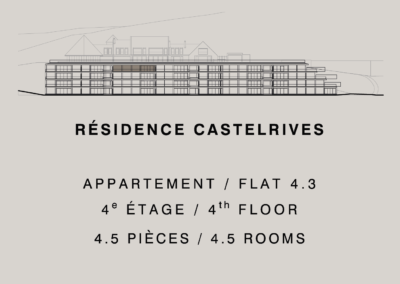 Castelrives Residence, Apartment 4.3