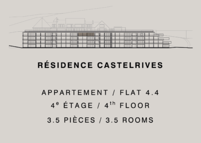 Castelrives Residence, Apartment 4.4