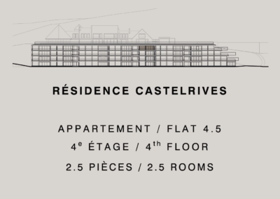 Castelrives Residence, Apartment 4.5