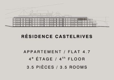 Castelrives Residence, Apartment 4.7